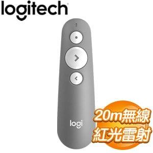 Logitech 羅技 R500 簡報器《灰》