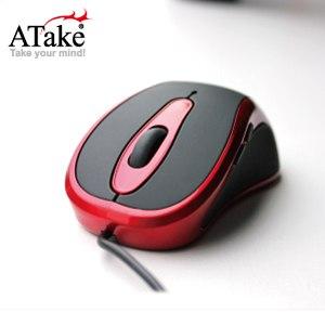 【ATake】AMJ-1005RE五鍵式光學絕地鼠-黑紅