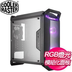 Cooler Master 酷碼【Q300P】3面全透 M-ATX電腦機殼《黑》