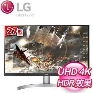 LG 樂金 27UK600-W 27型 IPS 4K電競螢幕