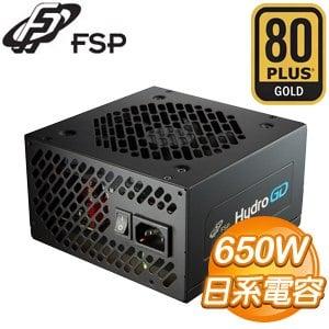 FSP 全漢 黑爵士D HGD650 650W 金牌 電源供應器(5年保)