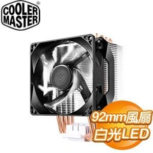 Cooler Master 酷碼 Hyper H411R CPU散熱器《白光》