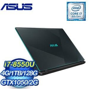 ASUS 華碩 VivoBook X560UD-0101B8550U 15.6吋筆記型電腦(藍/i7-8550U/4G/1TB+128G/GTX1050/W10)