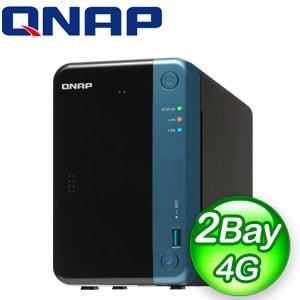 QNAP 威聯通 TS-253Be-4G 2Bay NAS網路儲存伺服器