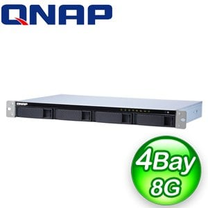 QNAP 威聯通 TS-431XeU-8G 4Bay NAS網路儲存伺服器