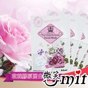 【BIOCROWN百匡】玫瑰膠原蛋白面膜 M06 (10入)