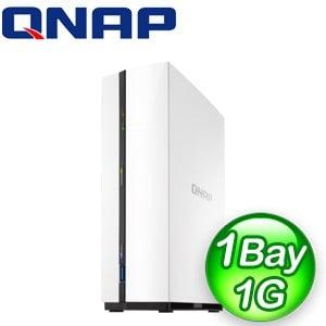 QNAP 威聯通 TS-128A 1Bay NAS網路儲存伺服器