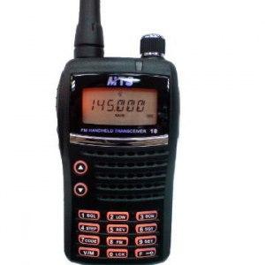 【MTS】MTS-V18 專業手持式 無線電對講機 (超值加贈原廠電池2個)