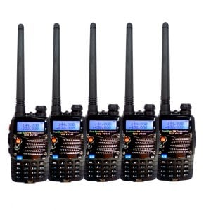 【TCO】VU-180 PLUS加強版 VU雙頻 無線電對講機(超值5入組)