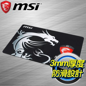 MSI 微星 JUST GAME MOUSE PAD 電競滑鼠墊
