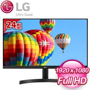 LG 樂金 24MK600M-B 24型 FHD 窄邊框 AH-IPS 顯示器螢幕