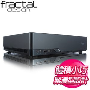 Fractal Design Node 202 ITX機殼《黑》FD-CA-NODE-202-BK