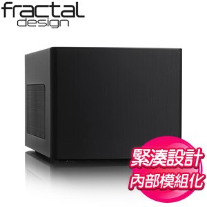 Fractal Design Node 304 ITX機殼《黑》FD-CA-NODE-304-BL
