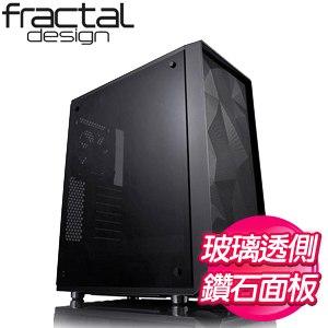 Fractal Design Meshify C-Dark TG 深色玻璃側板 ATX機殼《黑》