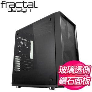 Fractal Design Meshify C Mini-Dark TG 透側 M-ATX機殼《黑》