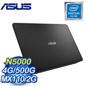 ASUS 華碩 Laptop X540MB-0021AN5000 15.6吋筆記型電腦(黑/N5000/4G/500G/MX110/Win10)