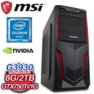 微星 MANAGER【紅色沙漠】G3930 文書辦公電腦