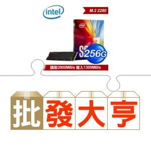 ☆批購自動送好禮★ Intel 760p 256G M.2 SSD(X6) ★送微星 H110M PRO-VH PLUS主機板