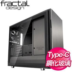 Fractal Design Define R6C 透側 E-ATX機殼《青銅灰》