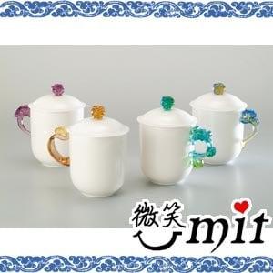 【微笑MIT】存仁堂/存仁堂藝瓷-大凍玉蓋杯(四色/單入)