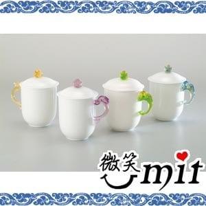 【微笑MIT】存仁堂/存仁堂藝瓷-小凍玉蓋杯(四色/單入)
