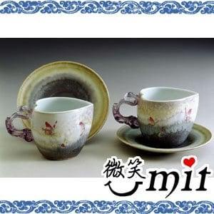 【微笑MIT】存仁堂/存仁堂藝瓷-心形蝴蝶對杯