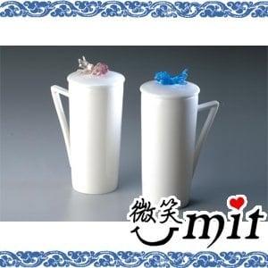 【微笑MIT】存仁堂/存仁堂藝瓷-有餘(魚)蓋杯(雙色/單入)