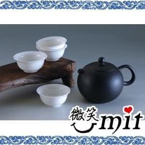 【微笑MIT】存仁堂/存仁堂藝瓷-夾炭黑陶西施壺