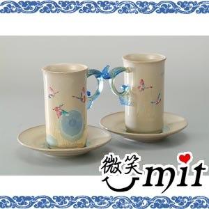 存仁堂藝瓷-淺藍結晶蝴蝶合歡