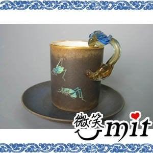 【微笑MIT】存仁堂/存仁堂藝瓷-螽蟴馬克杯