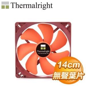 Thermalright 利民 TY-143 SQ 14公分 PWM機殼風扇