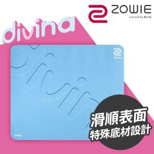 ZOWIE G-SR-SE DIVINA 特別版電競滑鼠墊《粉藍》