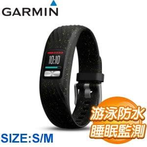 Garmin Vivofit 4 健身智慧手環(S/M)《深夜星空》