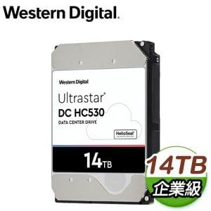 WD 威騰 Ultrastar DC HC530 14TB 3.5吋 7200轉 512MB快取 企業級硬碟(WUH721414ALE6L