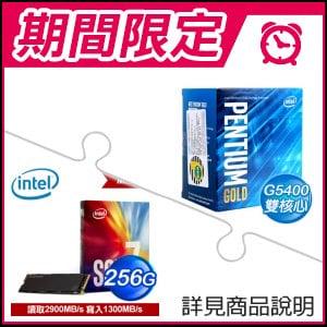☆期間限定★ G5400 處理器(x2)+Intel 760p 256G M.2 SSD(x2)