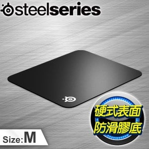 SteelSeries 賽睿 QCK Hard 電競滑鼠墊《硬版》