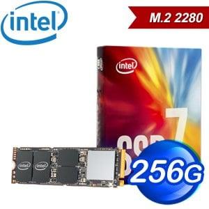 Intel 760p 256G M.2 PCIe SSD固態硬碟(讀:3210M/寫:1315M/TLC)《彩盒全球保固》