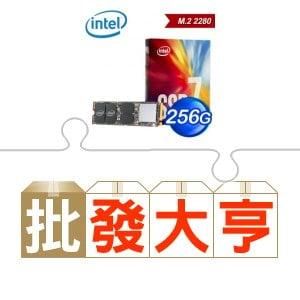 ☆批購自動送好禮★ Intel 760p 256G M.2 SSD《全球保固彩盒》(X10) ★送華碩 PRIME B250M-A主機板