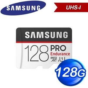 Samsung 三星 PRO Endurance 128GB MicroSDXC CL10/UHS-I 記憶卡(100MB/s)