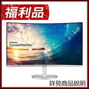 福利品》Samsung 三星 C27F591FDE 27型 VA曲面 低藍光電競液晶螢幕