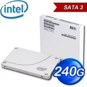 Intel SSD D3-S4510 240G 2.5吋 SATA SSD固態硬碟(讀:560M/寫:280M/TLC)