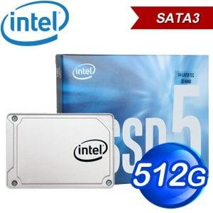 Intel 545s 512G 2.5吋 SATA SSD固態硬碟(讀:550M/寫:500M/TLC)(彩盒全球保固)