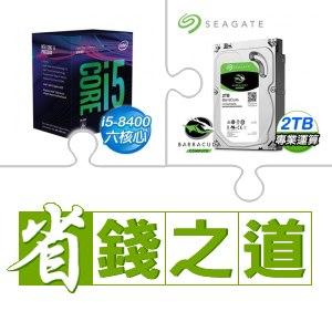 i5-8400處理器+希捷 2TB 硬碟(X3)