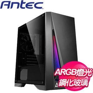 Antec 安鈦克【DP301M】玻璃透側 M-ATX電腦機殼《黑》