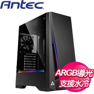Antec 安鈦克【DP501】玻璃透側 ATX電腦機殼《黑》
