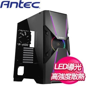 Antec 安鈦克【DA601】玻璃透側 E-ATX電腦機殼《黑》