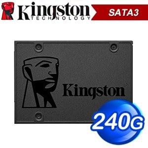 Kingston 金士頓 A400 240G 2.5吋 SATA SSD固態硬碟【三年保】(讀:500M/寫:350M/TLC)