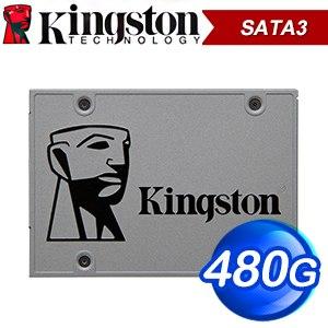 Kingston 金士頓 UV500 480G 2.5吋 SATA SSD固態硬碟【五年保】(讀:520M/寫:500M/TLC)
