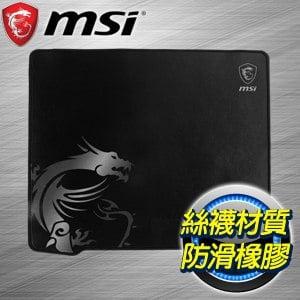 MSI 微星 Agility GD30 電競滑鼠墊(絲襪面料)