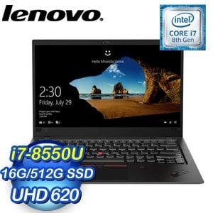 Lenovo 聯想 ThinkPad X1 Carbon 6th X1C-6筆記型電腦(i7-8550U,16G,512G SSD,Win10 Pro,三年保)